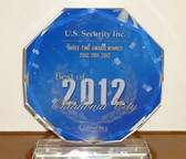 4 year award Best in Home Security Oklahoma City