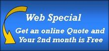 Website Special 2nd Month free